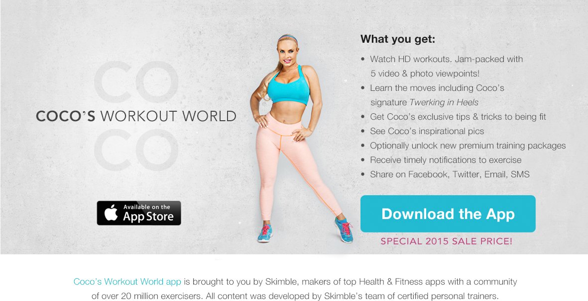 Cocos_workout_world_by_skimble_app_promo_summary
